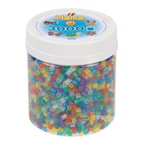 Hama Ironing Beads in Pot  Glitter Mix 54, 3000 pcs