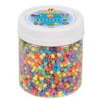 Hama Ironing Beads in Potje  Pastel Mix 50, 3000pcs