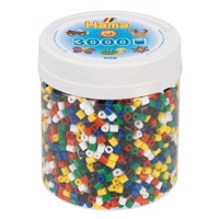 Hama Ironing Beads in Pot  Primary Mix 66, 3000pcs