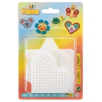 Hama Ironon bead plates Shapes Small, 5pcs