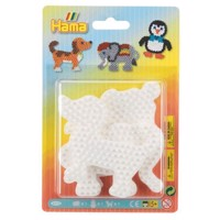 Hama Ironon Plates  Elephant, Penguin, Dog
