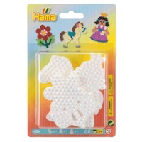 Hama Ironon Plates  Pony, Flower, Princess