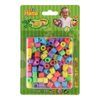 Hama String Beads Maxi Pastel Mix 50, 250Pcs