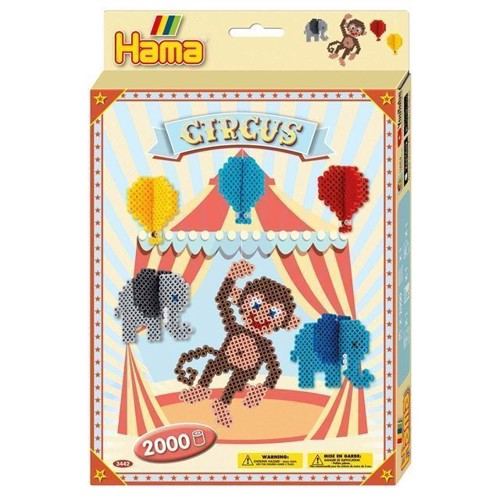Hama String beads set Circus, 2000pcs