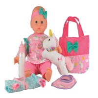 Happy friends anne doll with unicorn 36cm