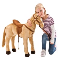 happy people plush horse w multifunction