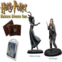 Harry Potter  Miniatures Adventure Game  Bellatrix and Wormtail HPMAG05