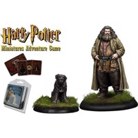 Harry Potter  Miniatures Adventure Game  Rubeus Hagrid and Fang HPMAG09