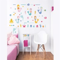 Havfrue Wallstickers