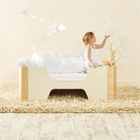 hello home pod wooden junior bed 140cm