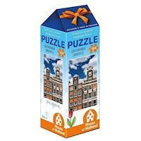 Holland most beautiful! Puzzle - Canal houses, 100pcs.