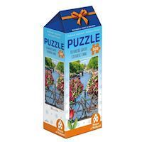 Holland most beautiful! Puzzle - Colorful canal, 500pcs.