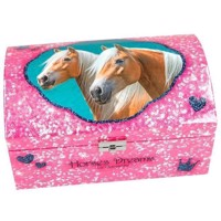 Horses Dreams - Jewelry Box - Pink