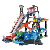 Hot Wheels - Ultimate Gator Car Was Play Set