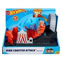 Hot Wheels City  Dino Attack Playset