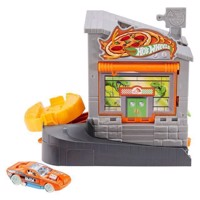 Hot Wheels Pizzeria in the City