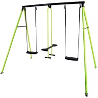 Hörby Bruk classic metal swing set lime