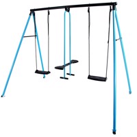 Hörby Bruk classic metal swing set turkis