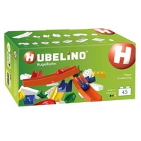 Hubelino Knikkerbaan Supplement set Wip Wap, 45dlg