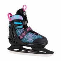 hudora allround comfort iceskating flowers size 29 34