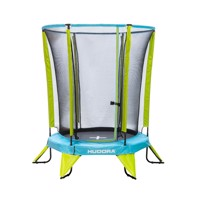 hudora children 39s trampoline with safe tynet