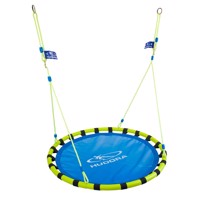 Hudora nest swing alu120 blue/yellow