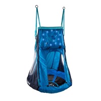 Hudora nest swing cosmos with tent led