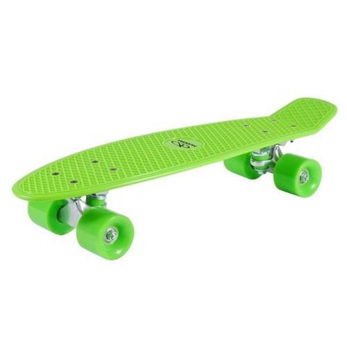 Hudora Skateboard Retro Light green