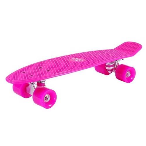 Hudora Skateboard Retro Pink