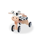 Toy balance bike cow