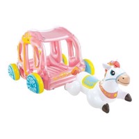 INTEX  Inflatable Princess Carriage 56514