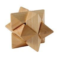 IQ Puzzle Wood Star