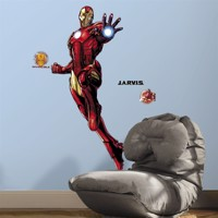 Iron Man Gigant Wallsticker