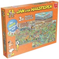 Jan Van Haasteren  3 x  Puzzel  Football