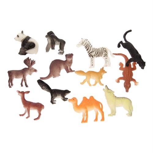 Jungle Animals, 12pcs