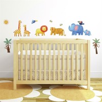 Jungle Eventyr Wallstickers