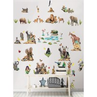 Jungle Safari Wallstickers