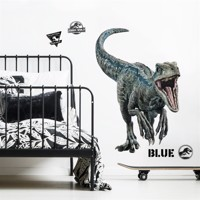 Jurassic World 2 BLUE VELOCIRAPTOR Gigant Wallsticker