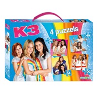 K3 puzzle box 4 in 1