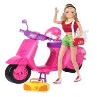 Kari michell doll with scooter