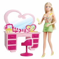 Kari michell doll with beauty table