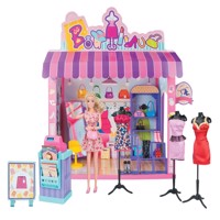 Kari michell fashionshop dollhouse, more than 50 parts