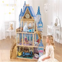 kidkraft disney princess Cinderella dollhouse with furniture