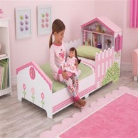 Kidkraft wooden dollhouse bed 140Cm