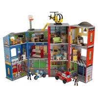 Kidkraft everyday heroes wooden playset