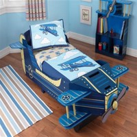 Kidkraft wooden airplane bed 140Cm