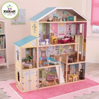 Kidkraft majestic dollhouse with furniture