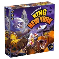 King of New York Boardgame, English