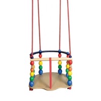 KREA - Wooden baby Swing - Luxus