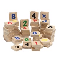 KREA - Wooden magnets, numbers and signs